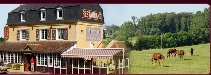 Auberge Restaurant La Tête au Loup  site touristique du Haras du Pin